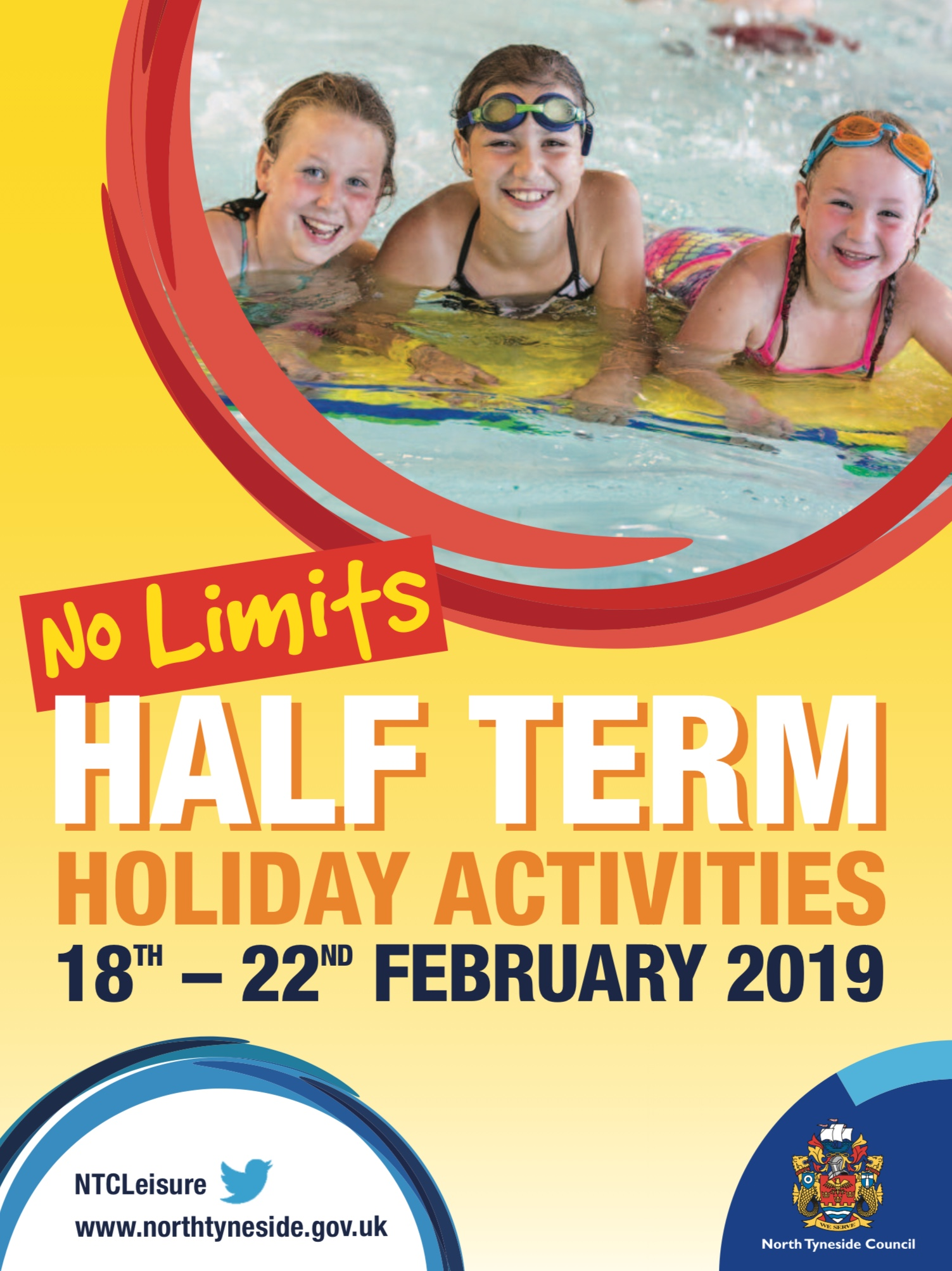 No Limits February 2019 Half Term Holiday Activities