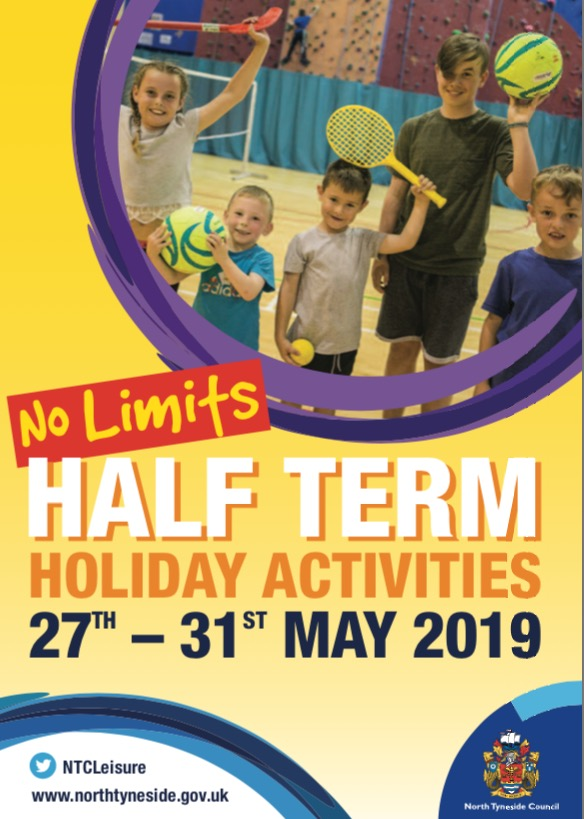 May 2019 Half Term Holiday Activities - Active North Tyneside