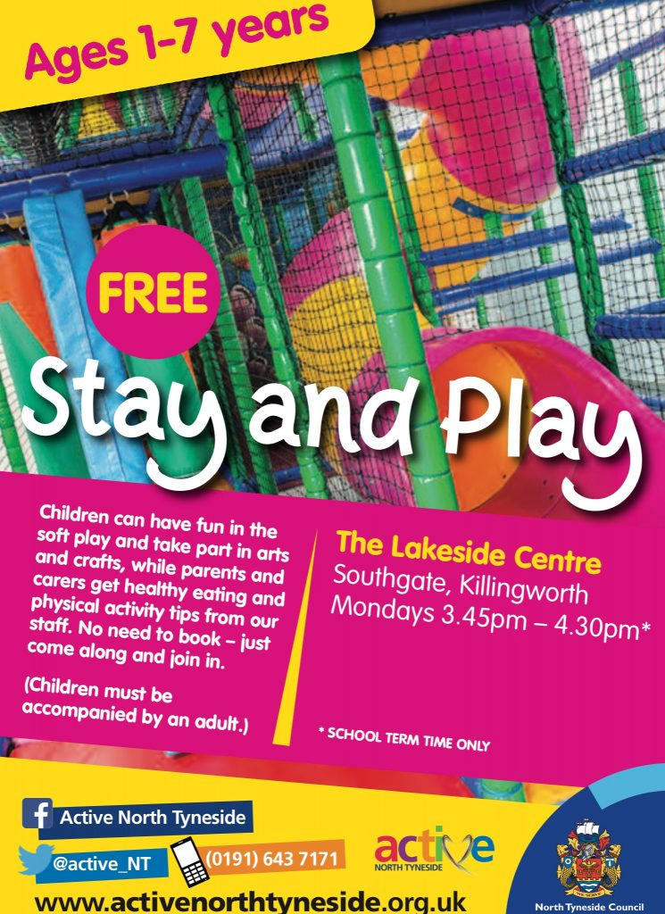 Stay And Play Age 1 To 7 Aug 19 Active North Tyneside